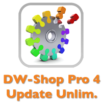 DW-Shop Pro 4.4 Unlimited (Upgrade von 4.x Basis)